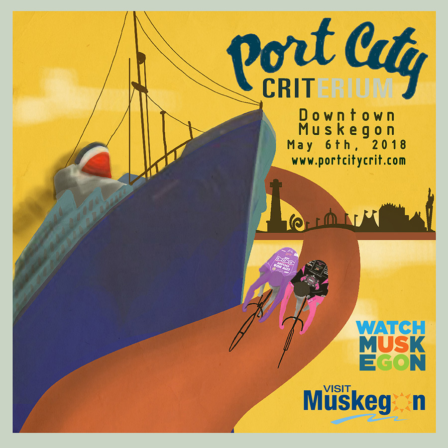2017 Port City Crit Poster