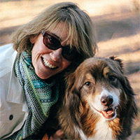 Cathy Schroeder and friend